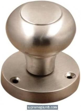 Malta Mortice Knob Satin Nickel